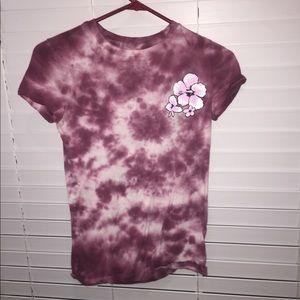 Tie dye flower Tee